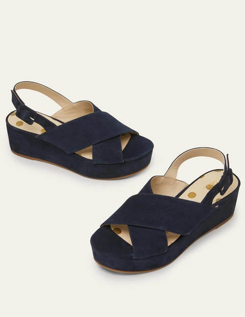 Olwen Sandals - Navy