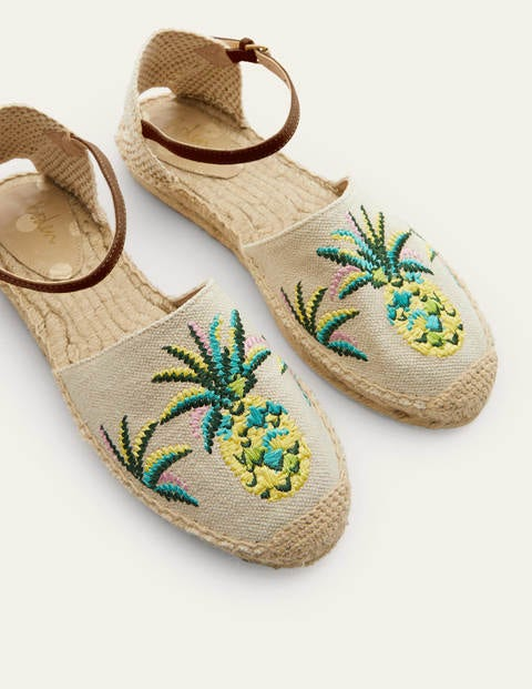 Peggy Espadrilles - Chartreuse Pineapple