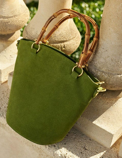 Daria Bucket Bag - Pea