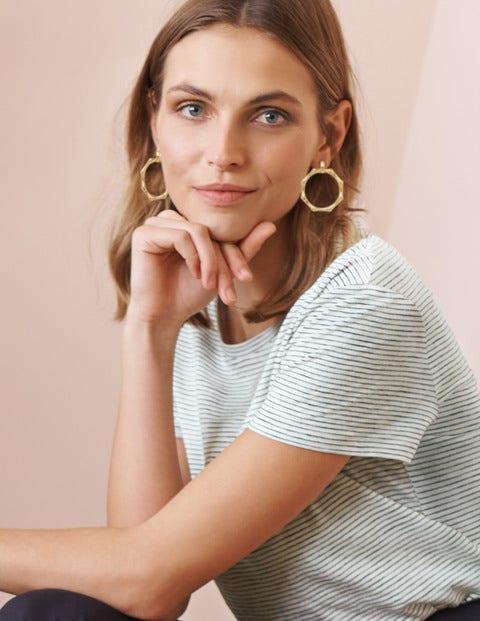 Bamboo Ring Earrings