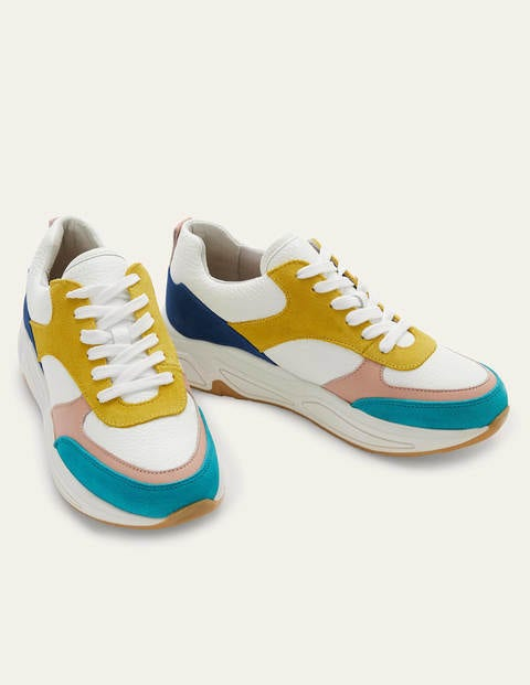 Rhea Sneakers - Gulf Blue Colourblock