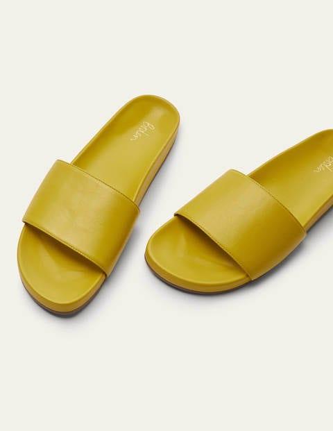 Elsie Mule Sandals - Daffodil