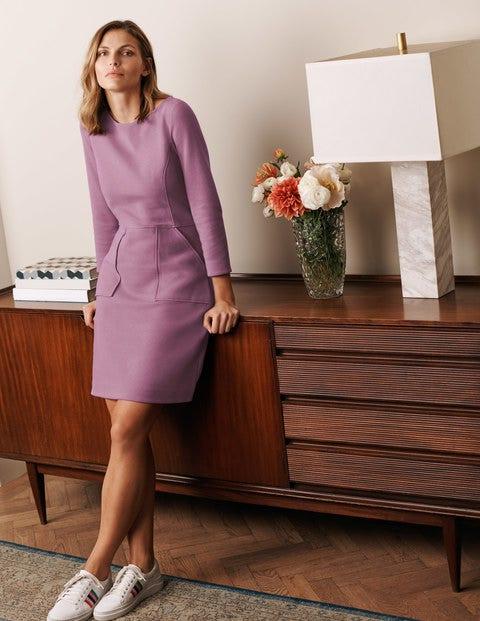 Auria Ottoman Dress - Heather