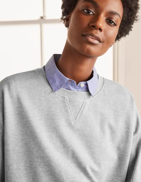 Kurz geschnittenes Sweatshirt GRY Damen Boden, GRY