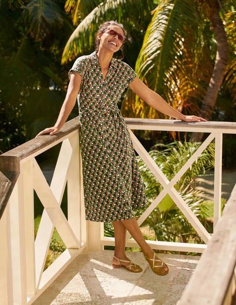 Thomasina Hemdblusenkleid aus Jersey