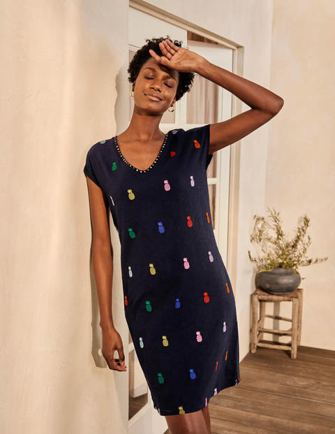 Polly Embroidered Dress
