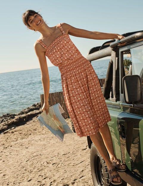 Rosamund Jerseykleid mit Smokdetail BRM Damen Boden, BRM