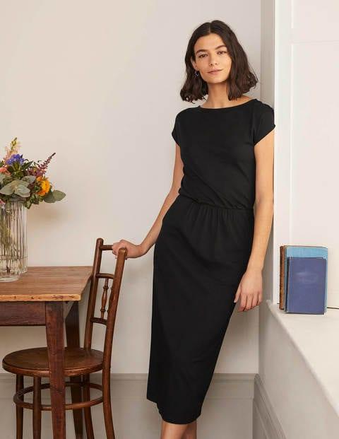 Odile Jersey T-shirt Dress - Black