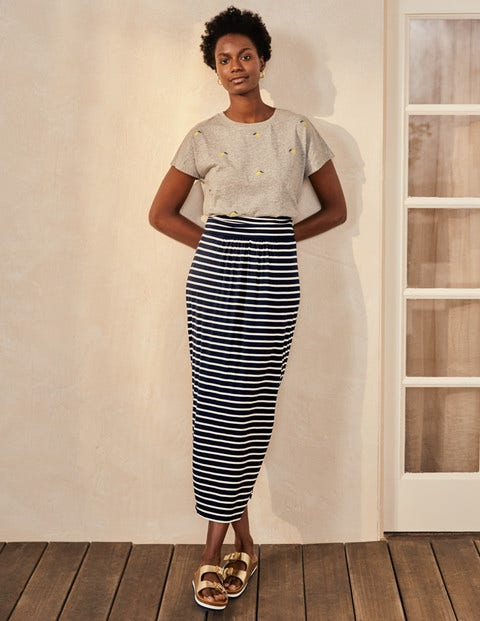 Ruched Waist Skirt