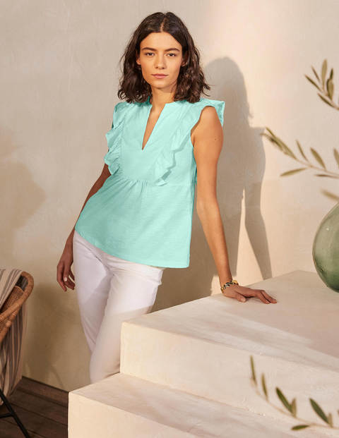 Judith Jerseyshirt - Mintgrün