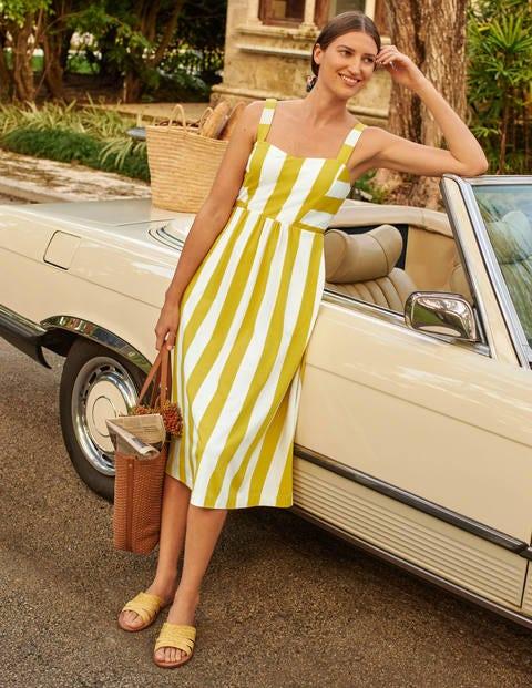 Lucy Gestreiftes Jerseykleid