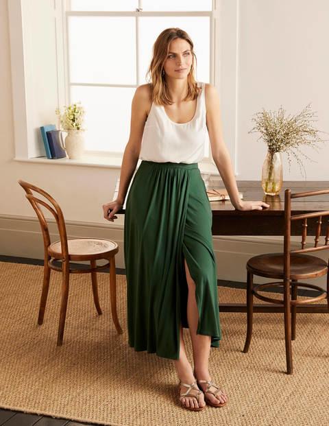 Helana Wrap Skirt - Palm Leaf