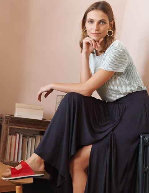 Helana Wrap Skirt - Navy
