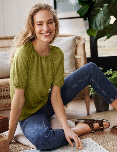 Tabitha Linen Jersey Top