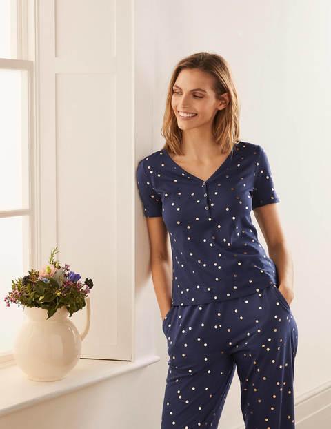Emma Short Sleeve Pyjama Top