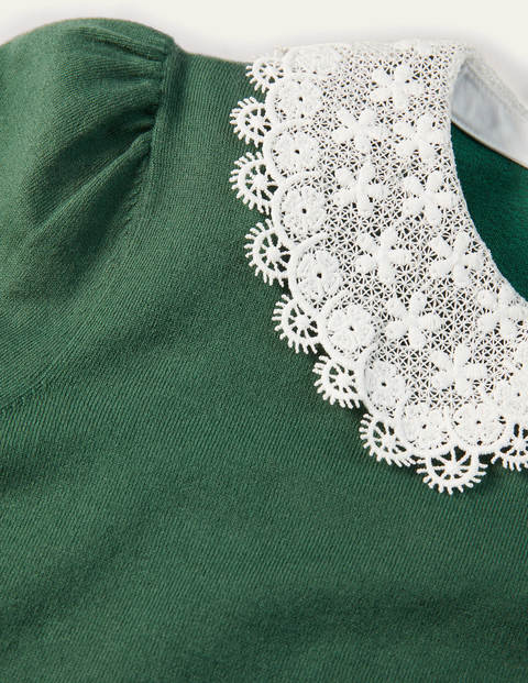 Harewood Pullover mit Webkragen