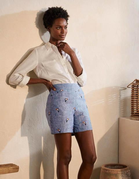 Hornsea Linen Shorts