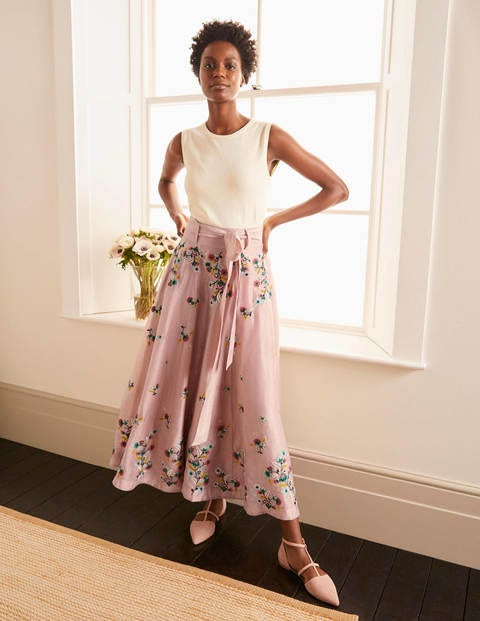 Cara Embroidered Skirt