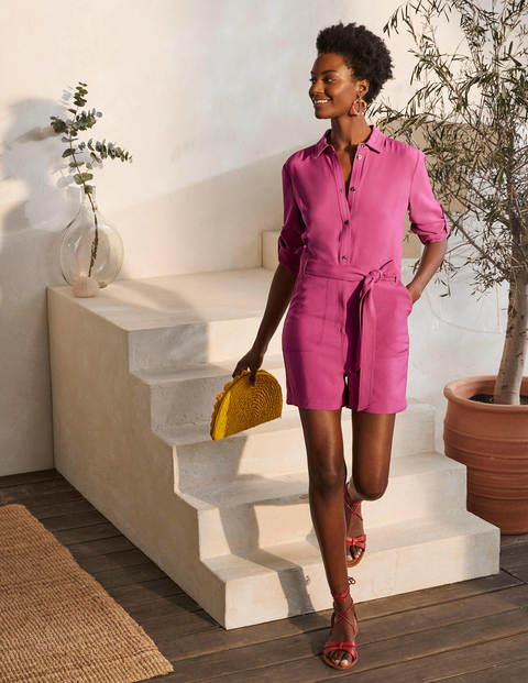 Cosima Playsuit - Berry Sorbet