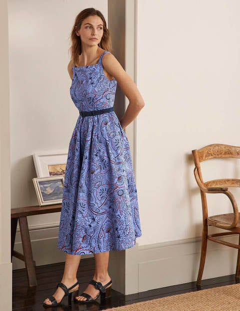 Aubrey Cotton Midi Dress