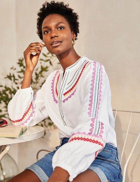 Eden Embroidered Top
