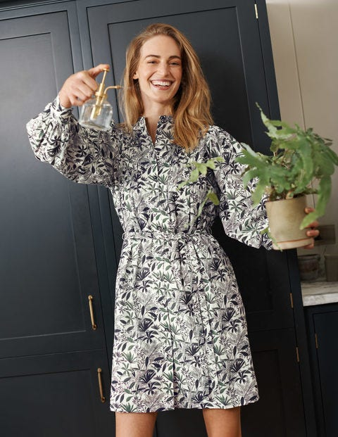 Antonia Cotton Shirt Dress