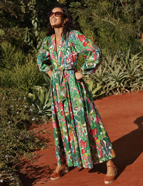 Amelia Cotton Maxi Dress