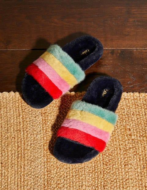 Fur Slider Slippers