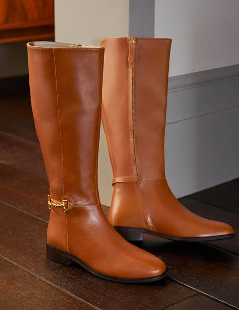 Snaffle Detail Riding Boots