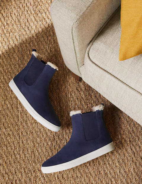 Shearling Chelsea Boots