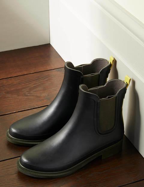 Chelsea Wellington Boots - Black
