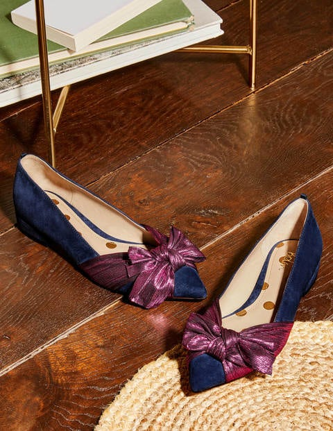 Vanessa Bow Shoes
