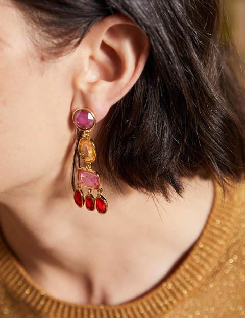 Boucles d'oreilles chandelier ornementées