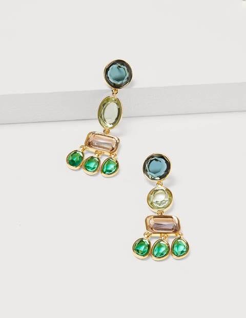 Jewelled Chandelier Earrings