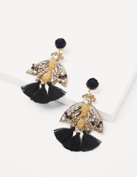 Embellished Beaded Earrings