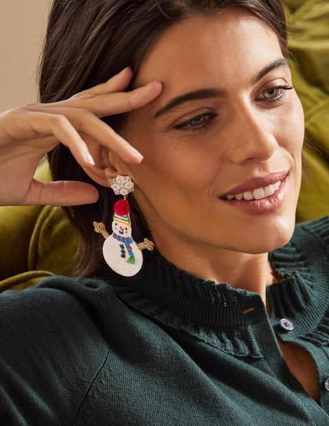 Beaded Festive Earrings