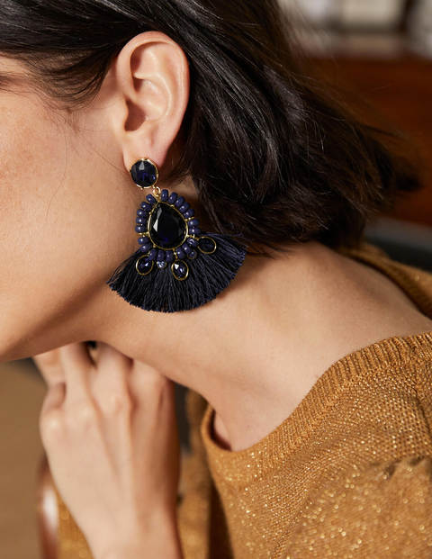 Jewelled Fringe Earrings