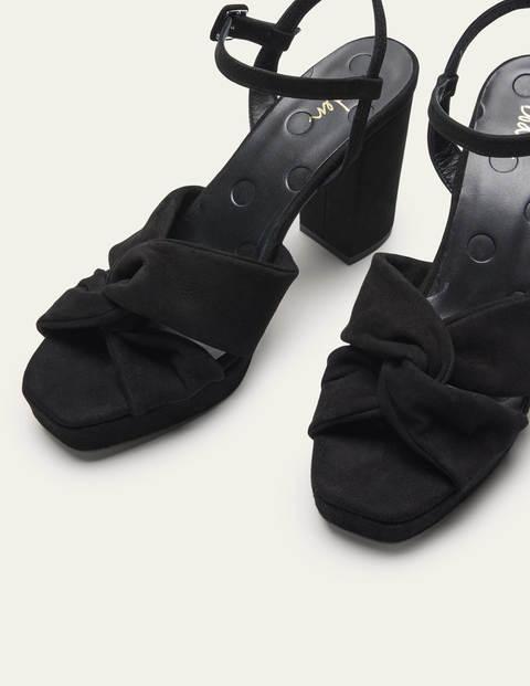 Twist Front Platform Sandals