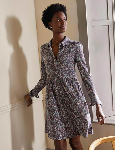 Alma Hemdblusenkleid aus Jersey