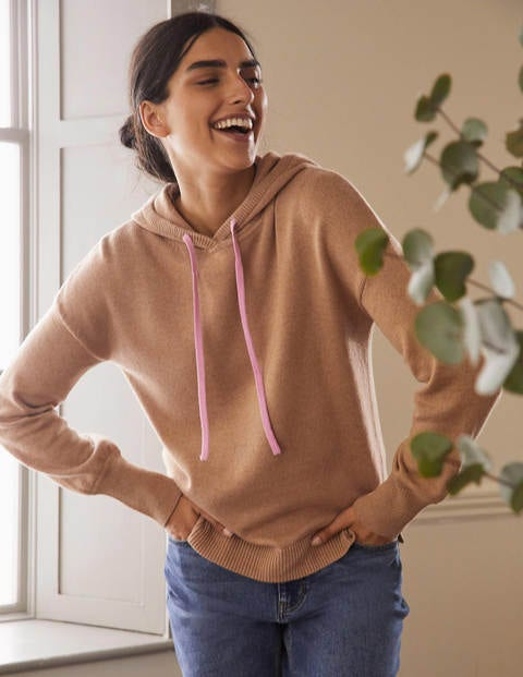 Knitted Relaxed Hoodie
