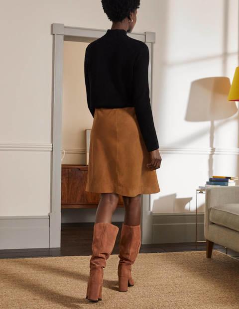 Lilian Suede Mini Skirt