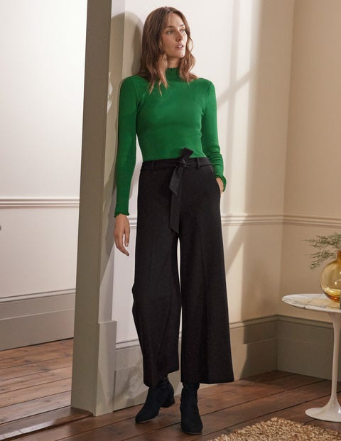 Ponte Pull-On Culottes