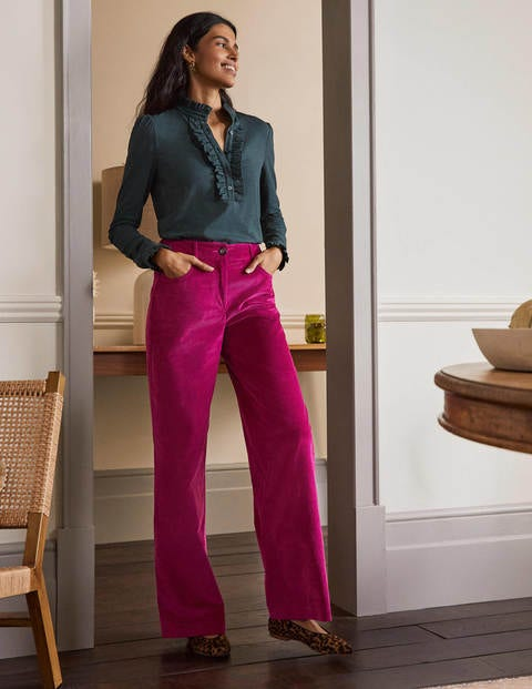 Alexia Pants - Indian Pink