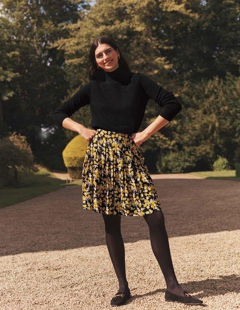 Victoria Pleated Skirt
