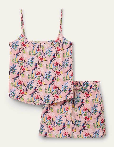 Silk Cami Pyjama Set