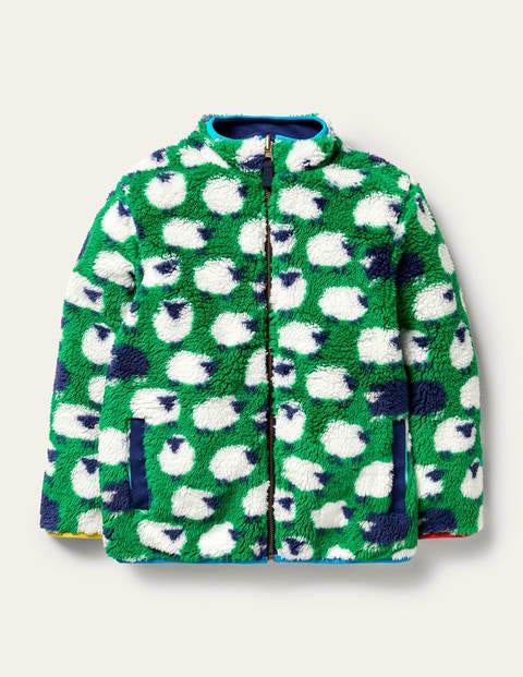 Reversible Zip-up Sweater