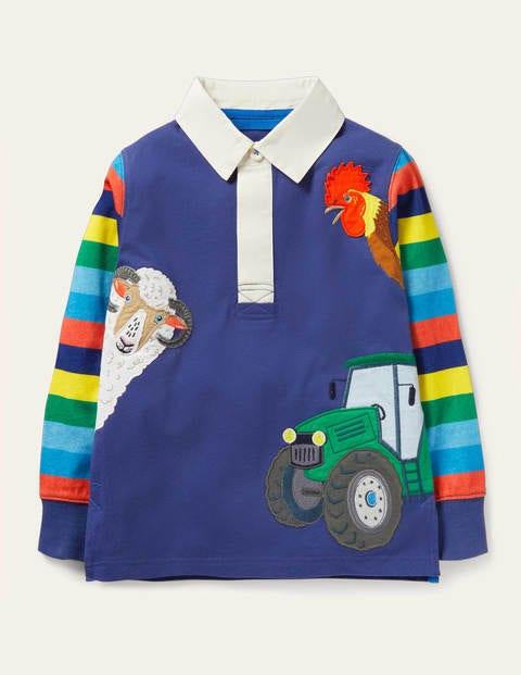 Fun Farm Animal Rugby Shirt
