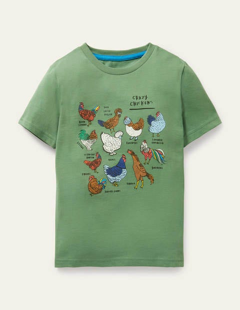 Graphic Grid T-shirt