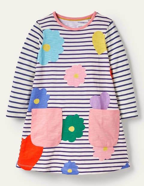 Fun Pocket Jersey Dress