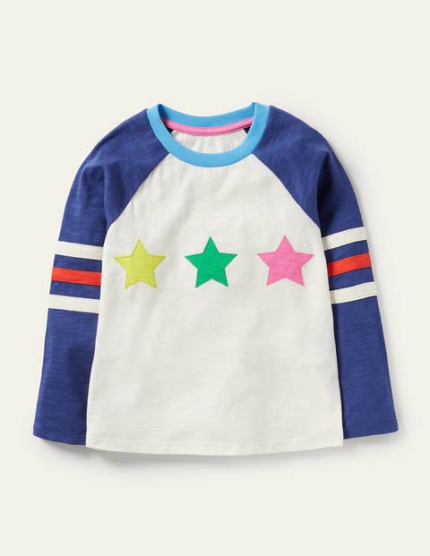 Stripe Slub Raglan T-shirt